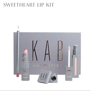 Other - KAB Cosmetics sweetheart lip set